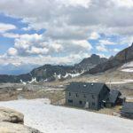 Lötschenpasshütte auf 2690m
